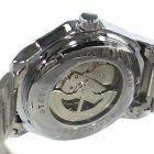 Часы мужские T-WINNER W090907 наручные с стальным ремешком скелетон Silver - изображение 3