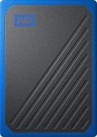 "Western Digital My Passport Go 1TB 2.5"" USB 3.0 Blue (WDBMCG0010BBT-WESN) External - изображение 1"