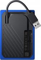 "Western Digital My Passport Go 1TB 2.5"" USB 3.0 Blue (WDBMCG0010BBT-WESN) External - изображение 7"