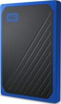 "Western Digital My Passport Go 1TB 2.5"" USB 3.0 Blue (WDBMCG0010BBT-WESN) External - изображение 3"