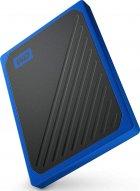 """Western Digital My Passport Go 500GB 2.5"""" USB 3.0 Blue (WDBMCG5000ABT-WESN) External - зображення 4"""
