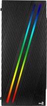 Корпус AEROCOOL PGS Streak Black (Streak-A-BK-v1) без БЖ - зображення 3