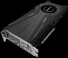 Gigabyte PCI-Ex GeForce RTX 2080 Ti Turbo 11G 11GB GDDR6 (352bit) (1545/14000) (Type-C, HDMI, 3 x Display Port) (GV-N208TTURBO-11GC) - изображение 3