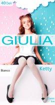 Колготки Giulia Ketty 40 Den (128-134 см) Bianco (4823102928272) - изображение 1