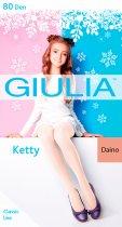 Колготки Giulia Ketty 80 Den (128-134 см) Daino (4823102936949) - изображение 1