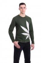 Реглан Чоловічий AndreStar Cannabis Хакі L (3250) - зображення 1