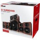 Акустична система TRUST Vigor 5.1 Surround Speaker System - зображення 5