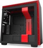 Корпус NZXT H710i Matte Black/Red (CA-H710i-BR) - зображення 1