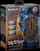 Мышь Defender Destiny GM-918 USB Black (52918) - изображение 9
