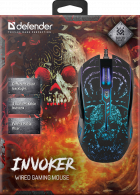 Мышь Defender Invoker GM-947 USB Black (52947) - изображение 8