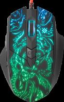 Мышь Defender Titan GM-650L RGB USB Black (52650) - изображение 2