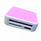 Перехідник з Type C SD card, usb, Micro Sd для планшетів і ноутбуків, рожевий - зображення 1