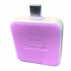 Перехідник з Type C SD card, usb, Micro Sd для планшетів і ноутбуків, рожевий - зображення 2