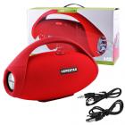 Портативная колонка HOPESTAR H31 BIG, Bluetooth, c функцией speakerphone, радио, Красный - изображение 2