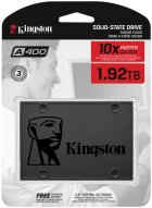"Kingston SSDNow A400 1.92TB 2.5"" SATAIII 3D V-NAND (SA400S37/1920G) - зображення 4"