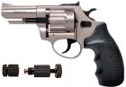 """Револьвер Флобера PROFI 3"""" сатин пластик + Обтиск патронів Флобера в подарунок - зображення 1"""