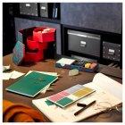 Декоративна коробочка IKEA (ІКЕА) ANILINARE 14х16см зелена червона (704.021.12) - зображення 5