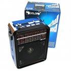 Радиоприемник Golon RX-9133 SD/USB с фонарем BLUE (DM00105) - зображення 1