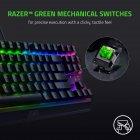 Клавиатура проводная Razer BlackWidow V3 TKL Razer Green ENG USB (RZ03-03490100-R3M1) - изображение 4