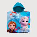 Рушники-пончо для дівчаток