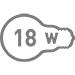 Электрическая мощность 18 Вт