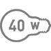 Электрическая мощность 40 Вт