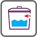 Підведення води збоку