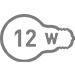 Електрична потужність 12 Вт