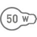 Електрична потужність 50 Вт